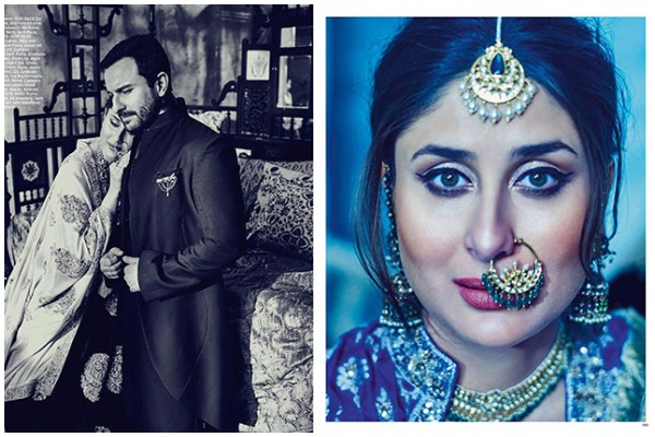 Kareena Kapoor Khan Saif Ali Khan Royal Photo Shoot