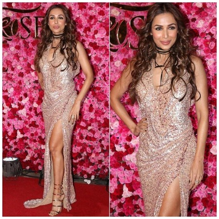 Malaika Arora Khan at Lux Golden Rose Awards Red Carpet