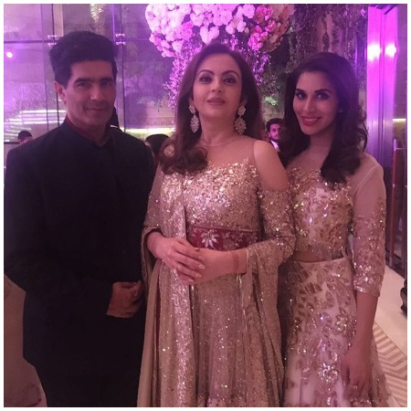 Manish Malhotra at Ambani star studded bash
