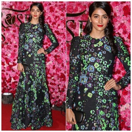 Pooja Hegde at Lux Golden Rose Awards Red Carpet