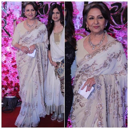 Sharmila Tagore at Lux Golden Rose Awards Red Carpet