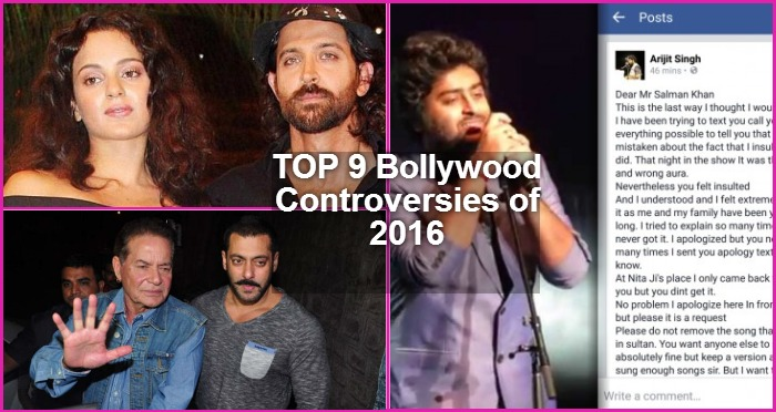 9 Most Shocking Bollywood Controversies Of 2016!