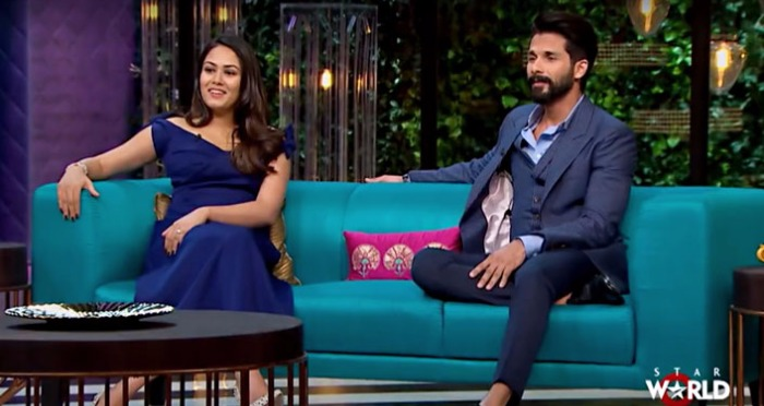 Shahid Kapoor's Exes, Bad Habits; Mira Rajput Reveals All on the Upcoming Episode of 'Koffee With Karan 5'
