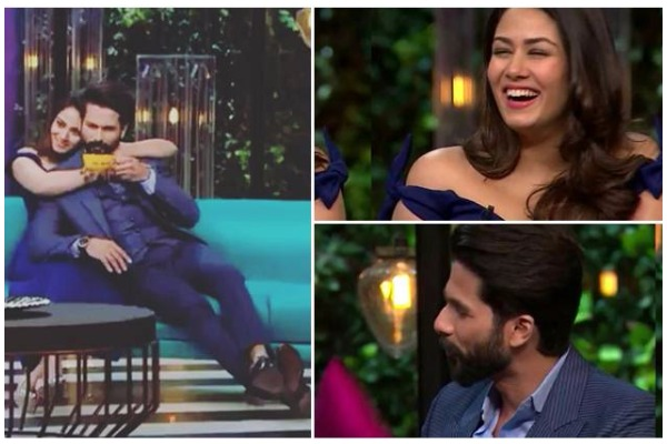 Mira Rajput Reveals Shahid Kapoor's bad habits on Koffee With Karan5