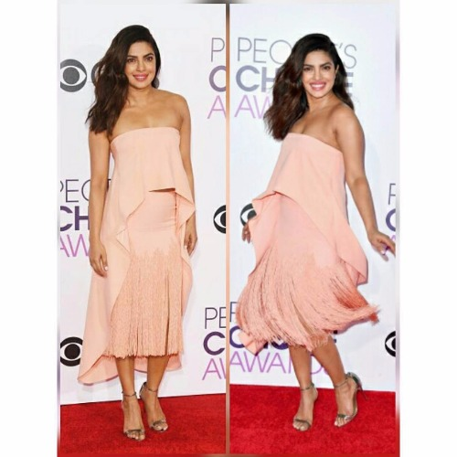 Priyanka Chopra's Style Quotient at People's Choice Awards 2017