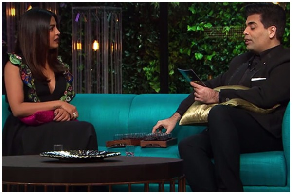 Bold Revelations Made By Priyanka Chopra On Koffee With Karan 5