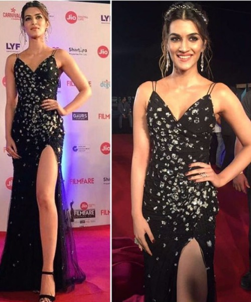 Kriti Sanon at Filmfare Awards 2017 Red Carpet!