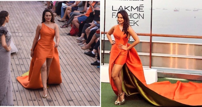 LFW Summer/Resort 2017: Sonakshi Sinha Slays As She Walks The Ramp For Monisha Jaising!