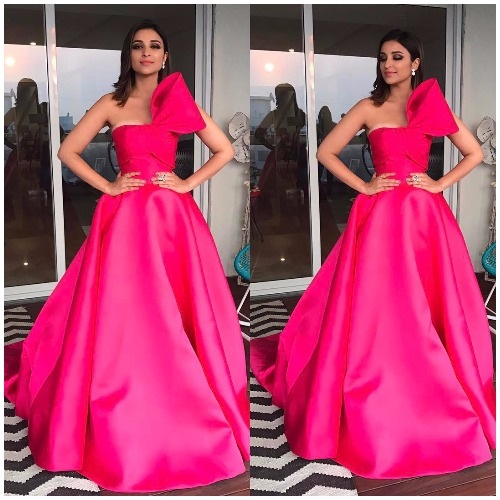 Parineeti Chopra at Filmfare Awards 2017 Red Carpet!