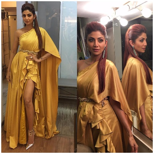 Shilpa Shetty at Filmfare Awards 2017 Red Carpet!