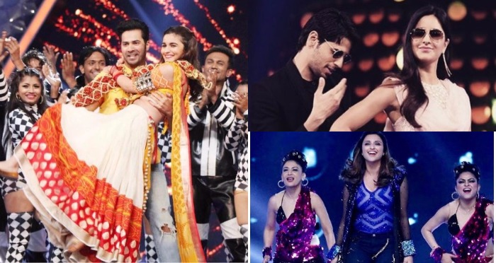 Inside Photos: Sidharth Malhotra-Katrina Kaif Kala Chasma, Alia Bhatt-Varun Dhawan's Badrinath Ki Duhania Act Set The Stage On Fire At Umang 2017
