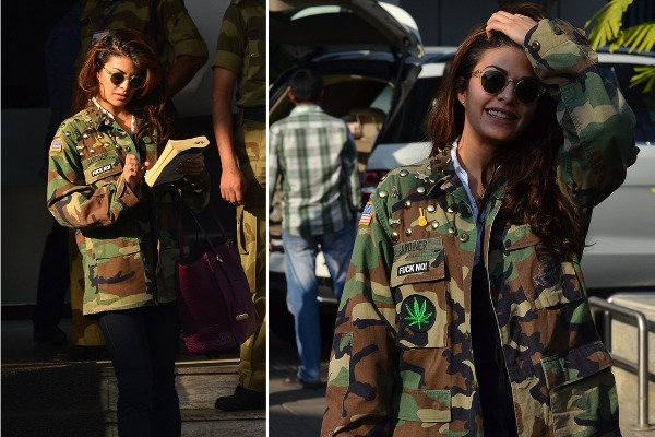 Celebrity Inspired Military Outfits for summer