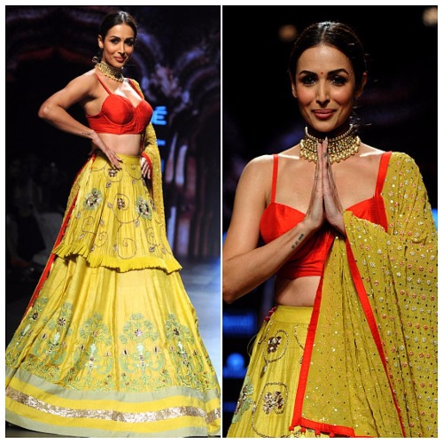 Divorced Malaika Arora Khan #ifw2017 Lakme Fashion Week 2017