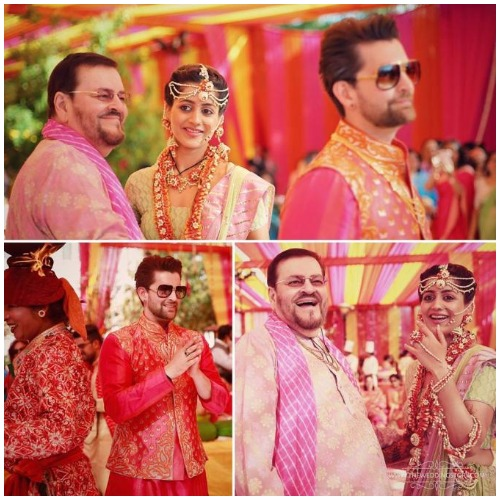 Neil Nitin Mukesh and Rukmini Sahay's Royal Sangeet