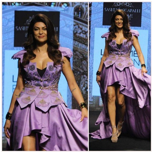 Miss Universe Sushmita Sen at Lakme Fashion Week 2017 #ifw2017