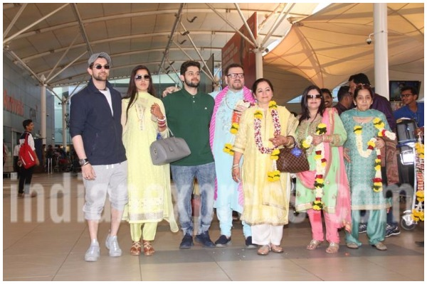 First Post-Marriage Pictures of Neil Nitin Mukesh Rukmini Sahay