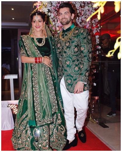 Neil Nitin Mukesh and Rukmini wedding Reception Party