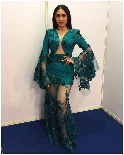 Neha Bhasin Best Dressed Bollywood Actors at Mirchi Music Awards 2017