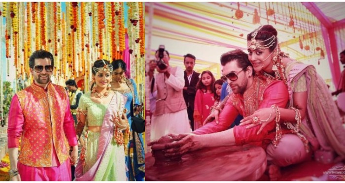In Pics: Neil Nitin Mukesh and Rukmini Sahay's Royal Sangeet and Colorful Mehendi !