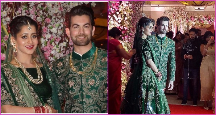 Newly Weds Neil Nitin Mukesh and Rukmini Sahay Wedding Reception Party Was All Star Studded and Grand