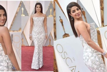 Oscars 2017 Red Carpet Look: Priyanka Chopra Dons a Sultry White Ralph and Russo Gown
