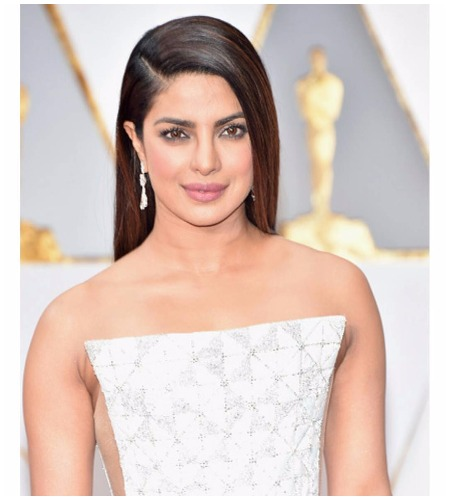 Priyanka Chopra Oscars 2017 White Ralph and Russo