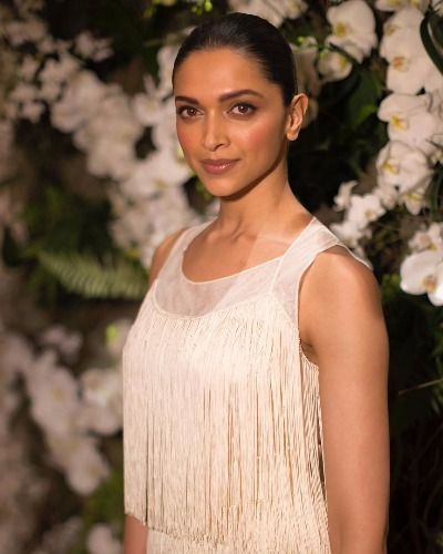Deepika Padukone In Ralph Lauren at New York Fashion Week 2017
