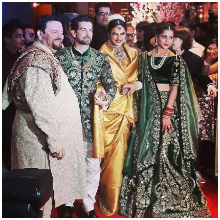 Neil Nitin Mukesh and Rukmini Sahay wedding Reception Party