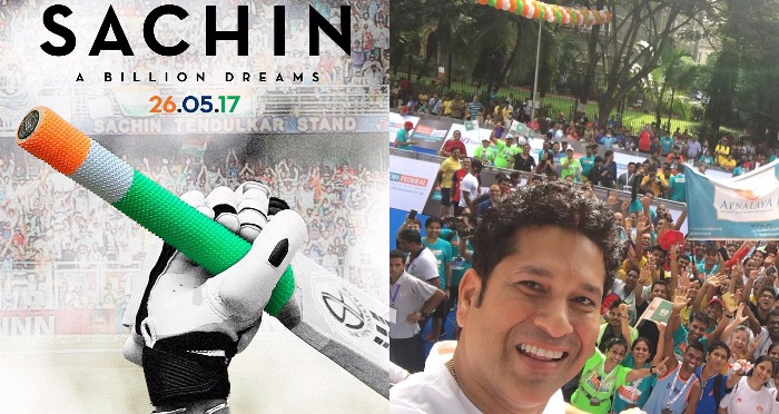 Sachin Tendulkar Unveils New Poster of Sachin A Billion Dreams; Films Release Date To Clash With Priyanka's Baywatch