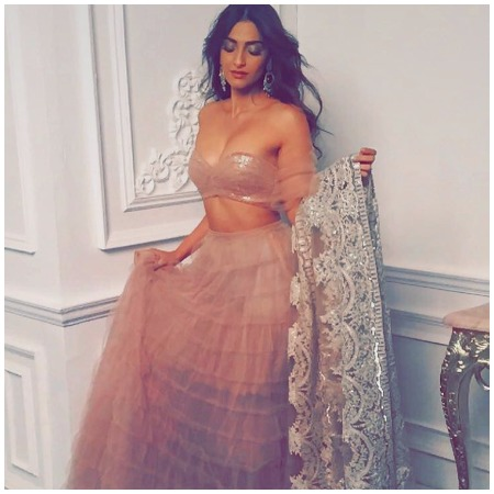 Sonam Kapoor's Sizzling Photo-Shoot For Designer Shehla Khan