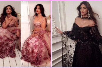 Sonam Kapoor's Sizzling Photo-Shoot for Designer Shehla Khan Silhouette is Oozing Beauty