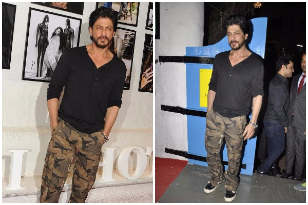 SRK Celebrity Inspired Military Outfits for summer