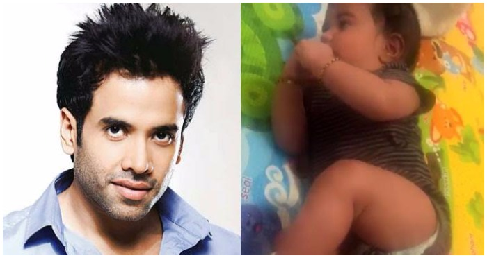 Watch: After Taimur Ali Khan and Misha Kapoor, Here Comes Tusshar Kapoor's Son Laksshya's Video