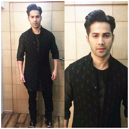 Varun Dhawan Best Dressed Bollywood Actors at Mirchi Music Awards 2017