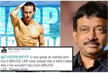 Ram Gopal Varma Makes Nasty Comments on Tiger Shroff, Calls Him 'Bikini Babe' and 'Gay'