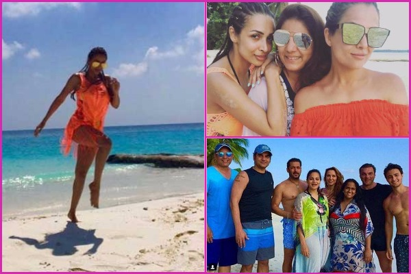 PICS: Salman, Arbaaz, Malaika, Amrita and Khan Family Having Best Time in Maldives On Ahil's First Birthday