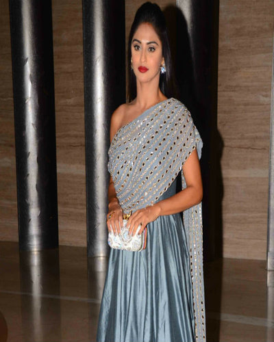 Ekta, Krystle-Karan, Gauhar Khan at Mandana Karimi Wedding Reception