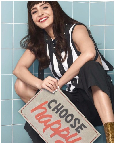 Anushka Sharma's Photo-shoot For Vogue Magazine