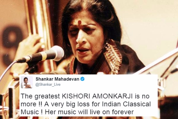 Kishori Amonkar: Hindustani Classical Music Legend Passes Away at 84!