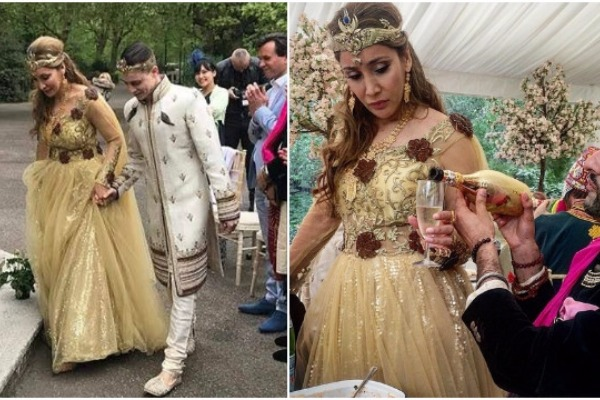 In PICS: Model Turn NUN Sofia Hayat Married To Vlad Stanescu In A Royal Egyptian Style!