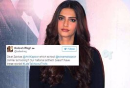 Sonam Kapoor Gets Trolled For Misquoting National Anthem. But Is She At Fault?