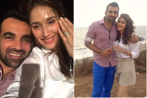 Cricketer Zaheer Khan Gets Engaged To Sagarika Ghatge, Announces News On Twitter