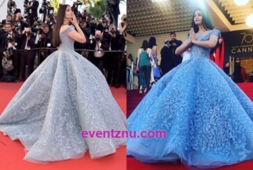 Cannes Film Fest 2017: Aishwarya Rai Bachchan Stun On Red Carpet In A Cinderella Inspired Blue Gown!