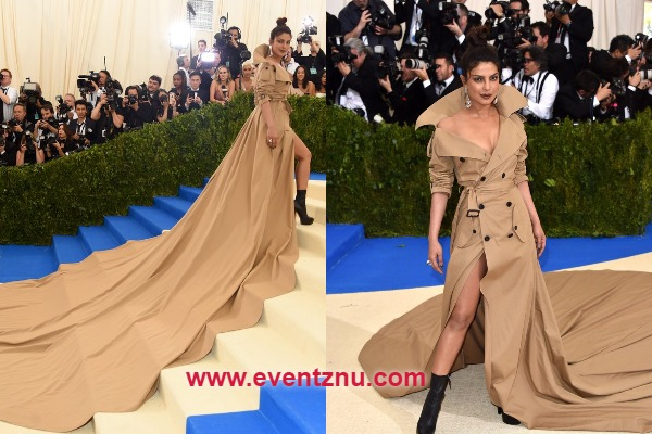 Priyanka Chopra's Met Gala 2017 Look In Ralph Lauren's Longest Trench Coat Is Stunner Amongst All