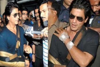 OMG! Shah Rukh Khan Escapes a Dangerous Accident While Shooting For A Movie