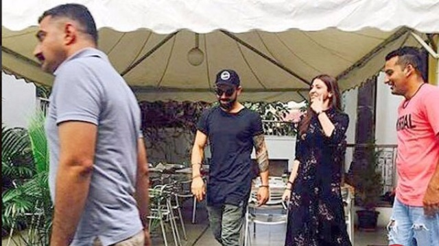 IN PICS: Virat Kohli and Anushka Sharma Spotted Together On A Lunch Date in Bangalore