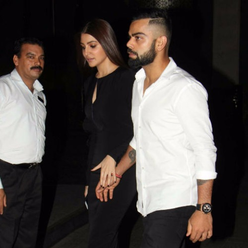 Anushka-Virat at Zaheer-Sagarika Engagement