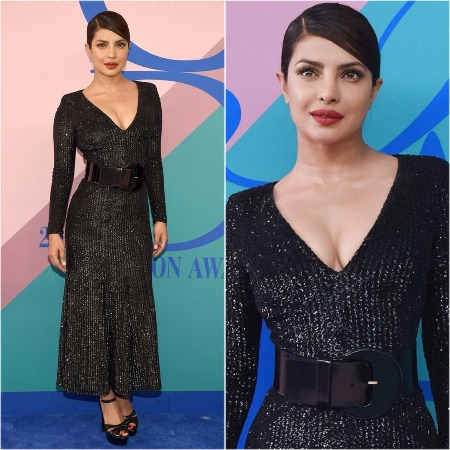 Priyanka Chopra In Michael Kors' at CFDA 2017