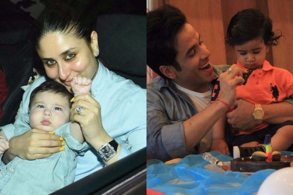 These Charming Photos of Taimur With Mom Kareena At Laksshya's Birthday Steals The Show!