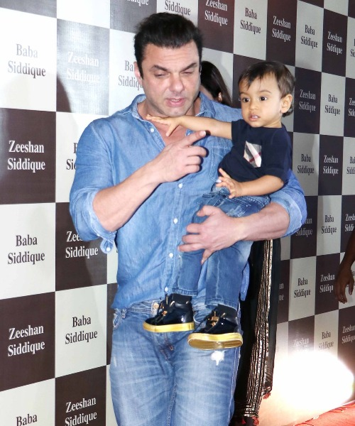 Sohail Khan at Baba Siddique's Iftar Party